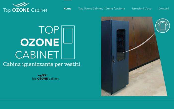 Top Ozone Cabinet - Cabina igienizzante per vestiti